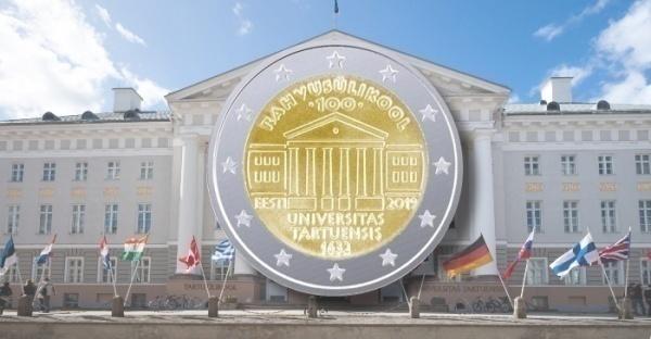 Фото 2 евро в честь 100-л