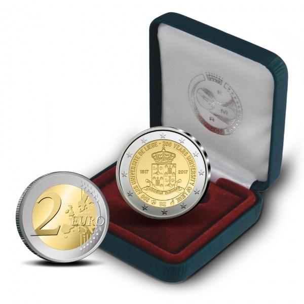 Фото Новые 2 евро Бельгии