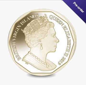 Фото Новая монета с цветн