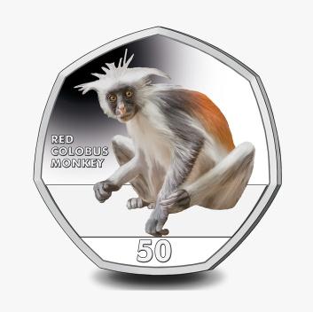 Фото Набор цветных монет