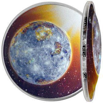 Фото Меркурий в центре цв
