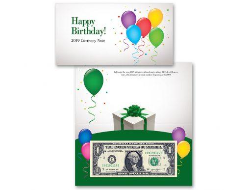Фото Банкнота США «С Днем