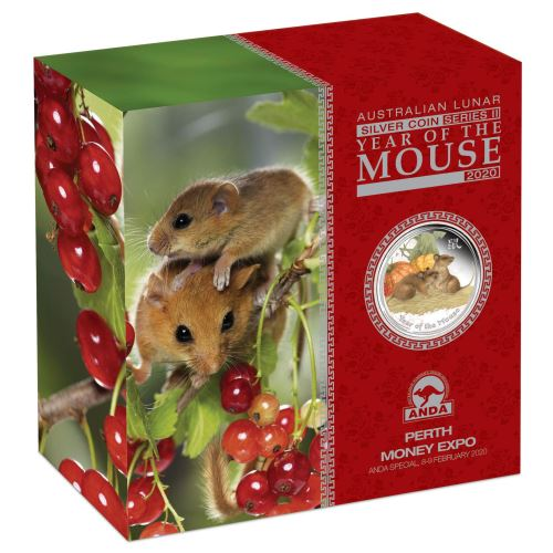 Фото Монета с мышами спец