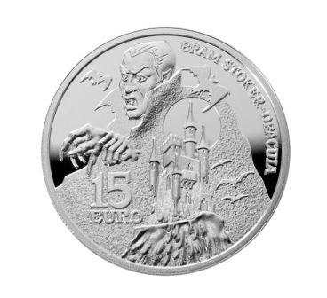 Фото Дракула на монете Ир