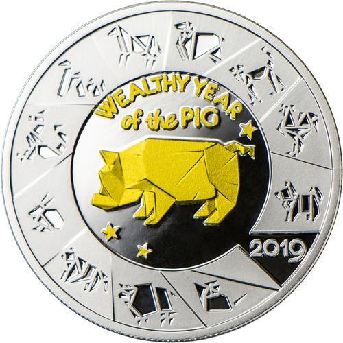 Фото Дизайн монеты в стил