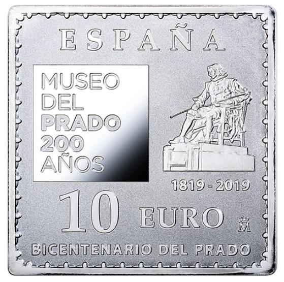 Фото Квадратная монета с